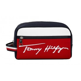 TOMMY HILFIGER TH SIGNATURE WASHBAG Desert Sky AM0AM07293
