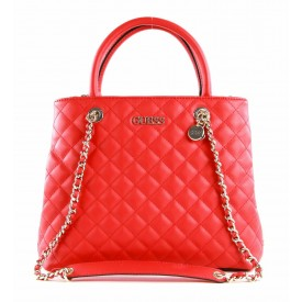 GUESS  ILLY SOCIETY SATCHEL   RED T/U HWVG7970060