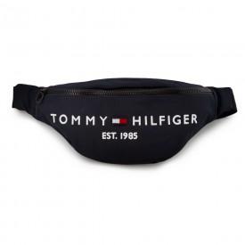 TOMMY HILFIGER TH ESTABLISHED CROSSBODY BAG BLACK AM0AM07206
