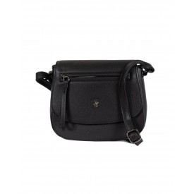 BEVERLY HILLS POLO CLUB BAGS BAHAMAS TRACOLLA DONNA IN ECOPELLE BLACK- BH-2424