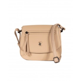 BEVERLY HILLS POLO CLUB BAGS BAHAMAS TRACOLLA DONNA IN ECOPELLE TORTORA- BH-2424