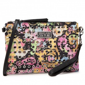 VERSACE JEANS COUTURE ALL OVER EYELETS PRINTED NYLON E1VWABBX 71887 M09