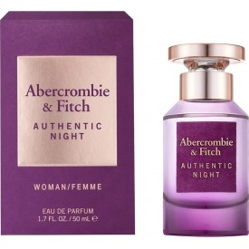 ABERCROMBIE & FITCH    Authentic Night Women EDP 50ml