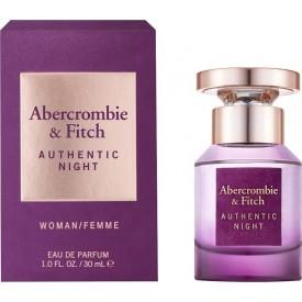 ABERCROMBIE & FITCH    Authentic Night Women EDP 30ml