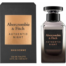 ABERCROMBIE & FITCH    Authentic Night Men EDT 100ml