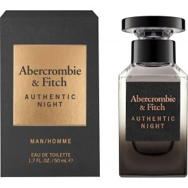 ABERCROMBIE & FITCH    Authentic Night Men EDT 50ml