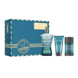 JEAN PAUL GAULTIER LE MALE EDT 125ML+AFTER SHAVE BALM 50ML+DEO STICK NEW