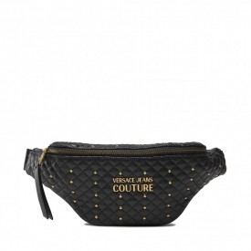 VERSACE JEANS COUTURE  71VA4BQ6 71881 899 RANGE Q- QUILTING, SKETCH 6 QUILTED NAPPA PU