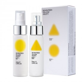 Seventeen YELLOW FRUITY BODY MIST & OIL 50ml