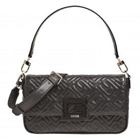 GUESS BRIGHTSIDE SHOULDER BAG  BLACK HWQG7580190