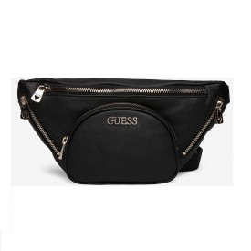 GUESS NEW VIBE BELT BAG  BLACK HWVG7750800