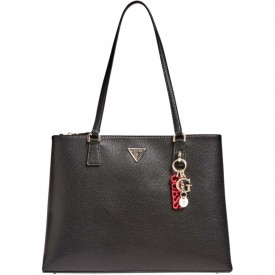 GUESS BECCA LUXURY SATCHEL  BLACK HWVG7742230