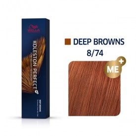 Wella Koleston Perfect Deep Browns 8/74 60ml