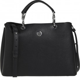 TOMMY HILFIGER TH CORE SATCHEL Black AW0AW08518