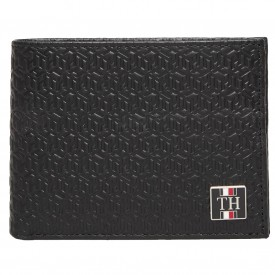 TOMMY HILFIGER MONOGRAM EXTRA CC AND COIN Black/navy AM0AM06320