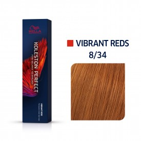 Wella Koleston Perfect Vibrant Reds 8/34 60ml