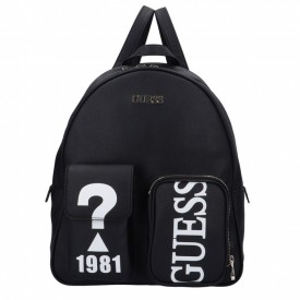 GUESS UTILITY VIBE LARGE BACKPACK  BLACK HWVQ7751330