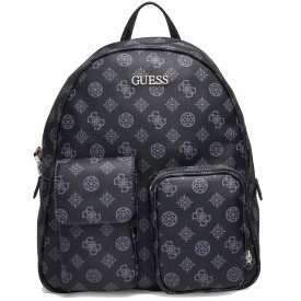 GUESS UTILITY VIBE LARGE BACKPACK  COAL HWSP7751330