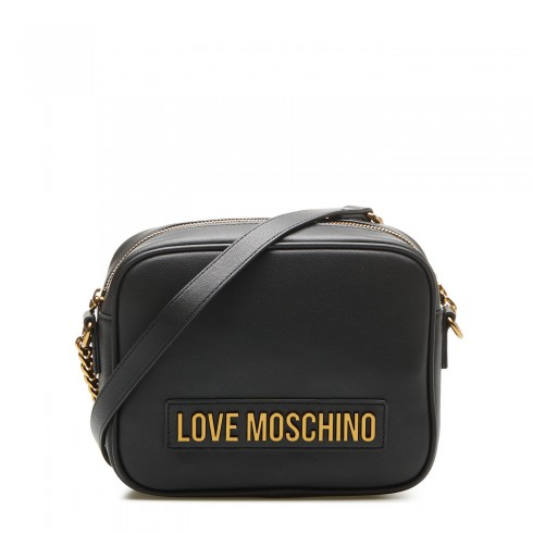 MOSCHINO BORSA SMOOTH PU NERO JC4071PP1BLK0000