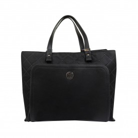 Tommy Hilfiger Th Elegant Tote Quilted Aw0Aw07513