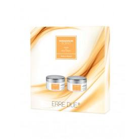 ERRE DUE Body Care Kit Madagascar Scent (Body Scrub 220ml & Body Cream 220ml)