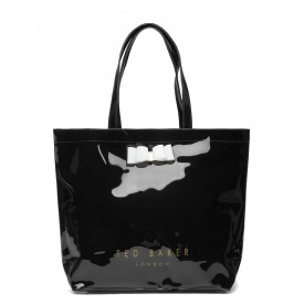 TED BAKER hanacon Bow Large Icon BAG Black 243519
