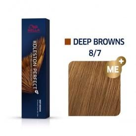 Wella Koleston Perfect Deep Browns 8/7 60ml