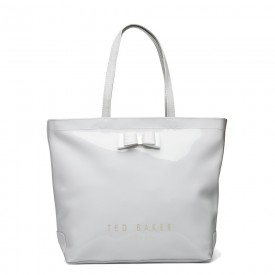 TED BAKER hanacon Bow Large Icon BAG Grey 243489