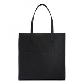 TED BAKER soocon crosshatch large icon bag Black 155930