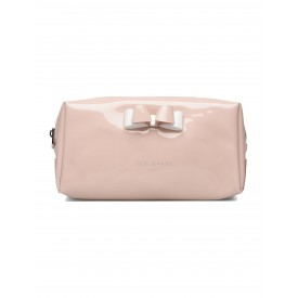 TED BAKER halsey Bow MAKE UP BAG dusky pink 243492.