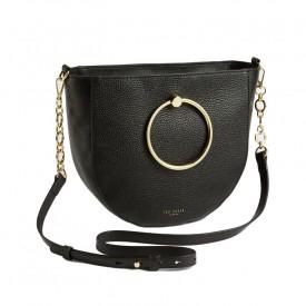 TED BAKER fflur Ring Handle Shoulder Bag Black 243579
