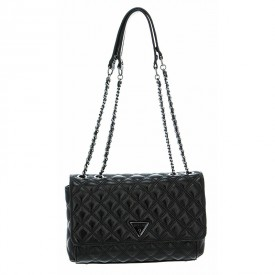 GUESS CESSILY CONVERTIBLE XBODY FLAP BLACK HWCM7679210