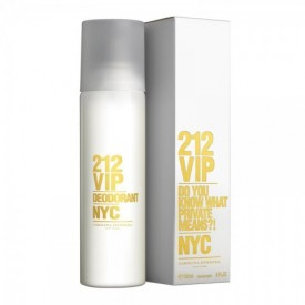 CH 212 VIP EDP DEODORANT SPRAY 150 ML NEW