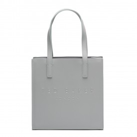 TED BAKER seacon crosshatch small icon bag lt-grey 155929