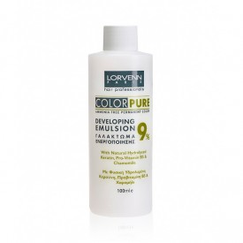 LORVENN COLOR DEVELOPING EMULSION 9%    100ml