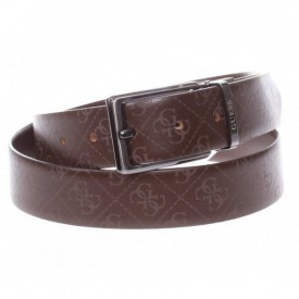 GUESS REVERSIBLE AND ADJUSTABLE BELT BROWN XL BM7301LEA35