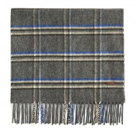 TED BAKER wigmore Window pane checked scarf SCARF charcoal 245871
